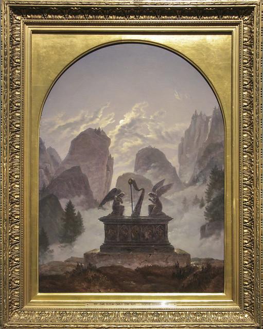 Goethe Memorial, Carl Gustav Carus, 1832