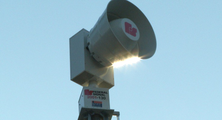 Meridian Township Goal Includes More Emergency Siren Systems