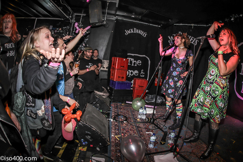Daphne and Celeste at the Brighton Hope 30th Mar 2018 pic by mike burnell-1877