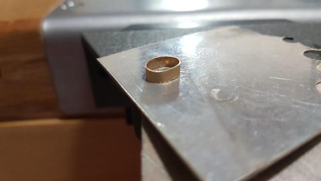 Réalisation d'un pendentif turquoise et diamant. 40450795255_18d369ff61_z