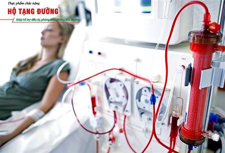 Lọc máu là phương pháp điều trị dành cho bệnh nhân suy thận giai đoạn cuối