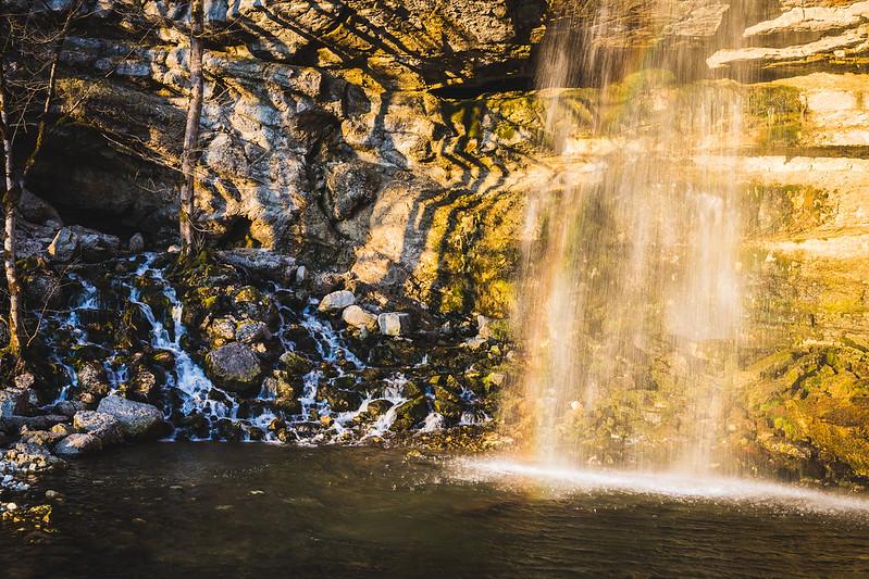 Cascades du Hérisson - Le Saut Girard - Jura - Avril 2018