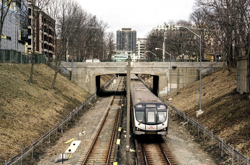 Yonge Line 1 Out in the Open