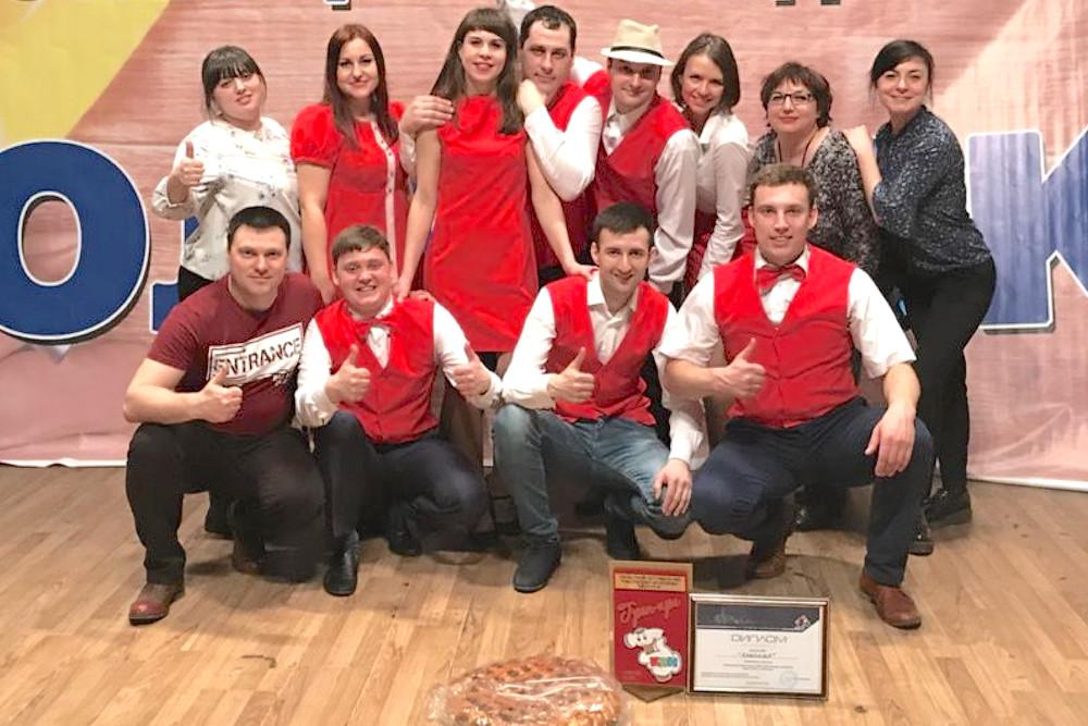 Красная команда завоевала Гран-При
