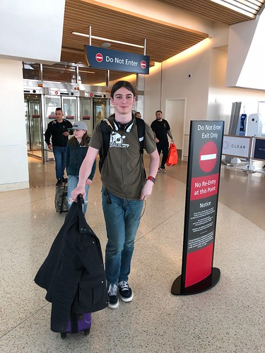 Nick has arrived at SJC!