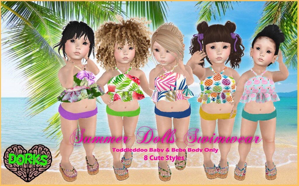 **DoRks** Summer Dolls Swimwear @LTTL SMLL STYL