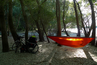 Hammock on the riverside
