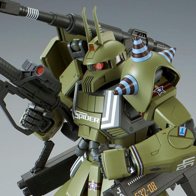 MG 1/100《機動戰士鋼彈 MSV》MS-06K 薩克加農(伊恩·格雷頓專用機)ザク・キャノン (イアン・グレーデン専用機)【PB限定】