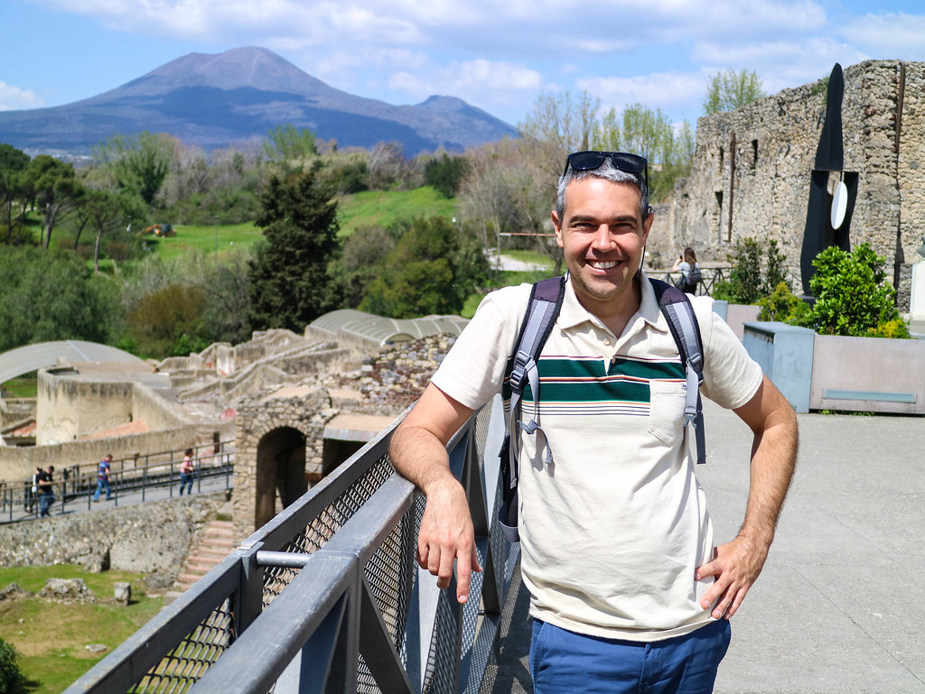 Vista al Vesubio