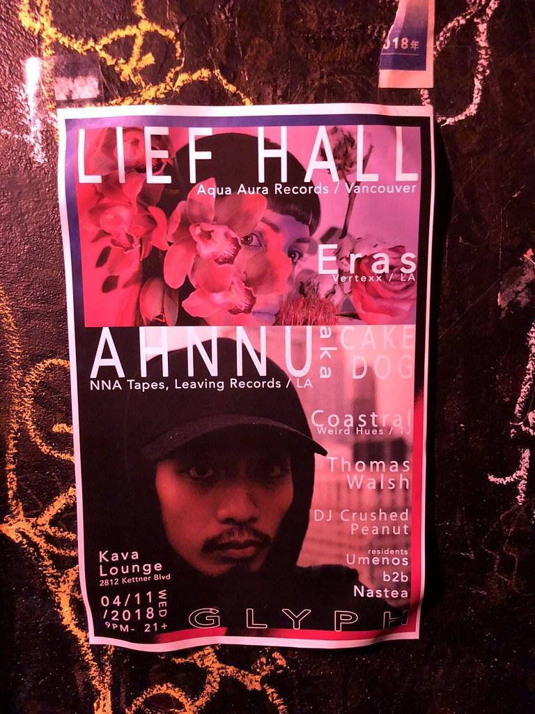 Lief Hall  4 11 18