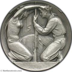 Swiss Shooting Festival Medal obverse