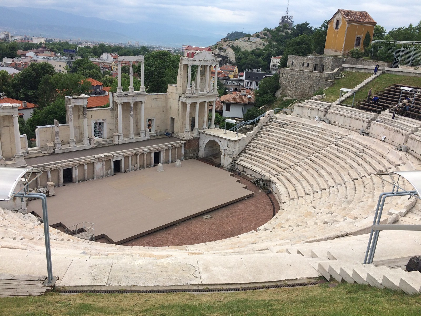 201705 - Balkans - Ancient Roman Theater - 8 of 89 - Plovdiv - Hadji Hasan Mahala - Plovdiv, May 22, 2017