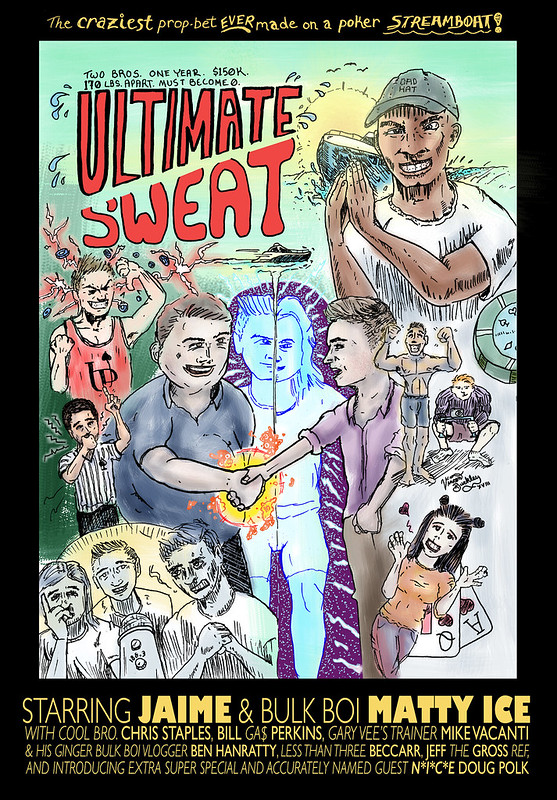 """Ultimate Sweat"" Poster"
