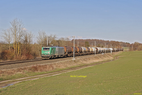 BB 27089 Train de citernes à Ballersdorf