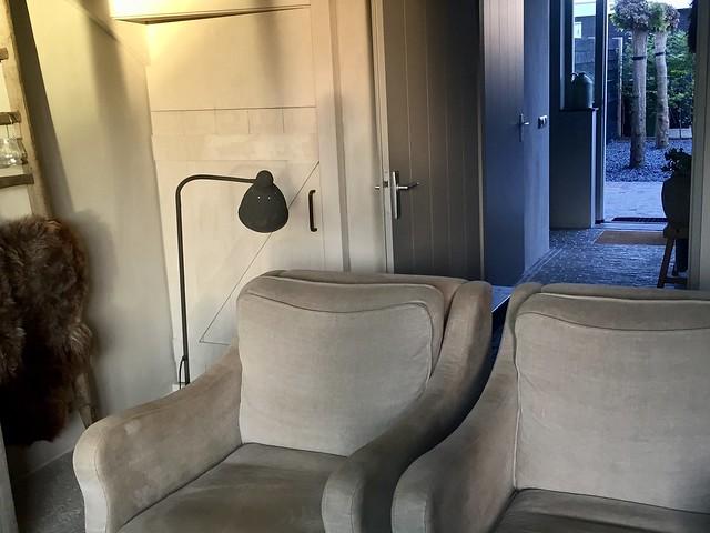 Fauteuil Hoffz lamp