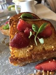 French Toast at Pray Tell Bar Toronto - Peak Brunch 2018