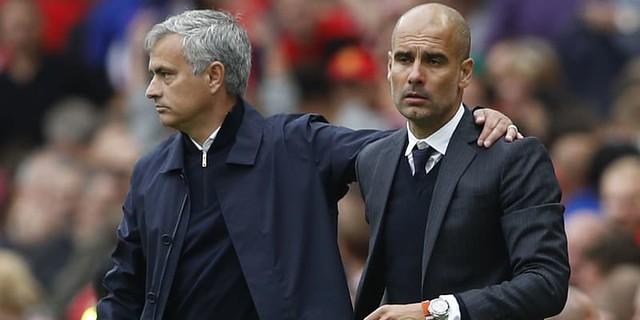 Jose Mourinho Tegaskan Sudah Beri Selamat Kepada Pep Guardiola
