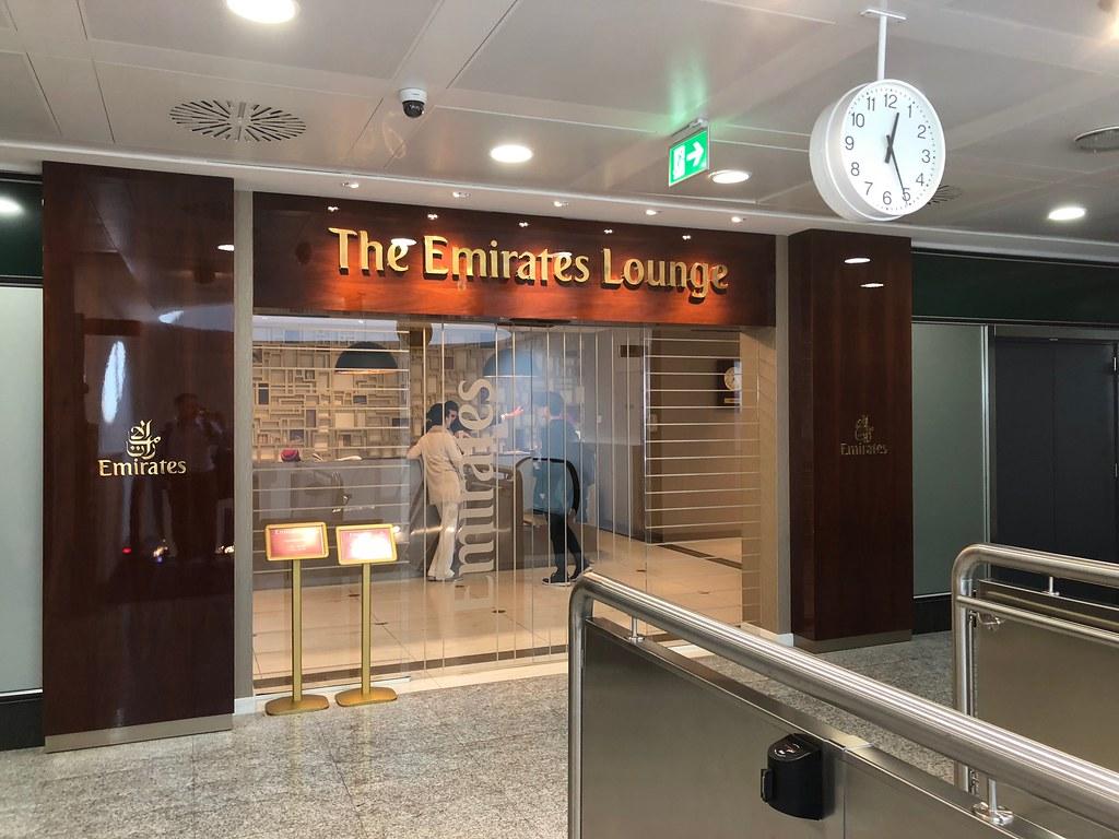 Emirates Lounge Milan MXP 11