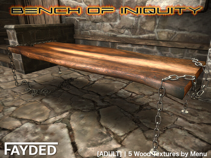 FAYDED – Bench of Iniquity
