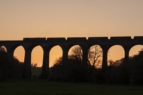 sunset trains coal class66 evening porthkerry viaduct weather wales southwales railways railroads flickr spring april freight uk goods geotagged barry locomotive 66089 dbcargo jeremysegrott photos photographs pictures images photography stock viewofporthkerryviaduct canon 80d eos camera forwebsite forwebpage forblog forpowerpoint forpresentation