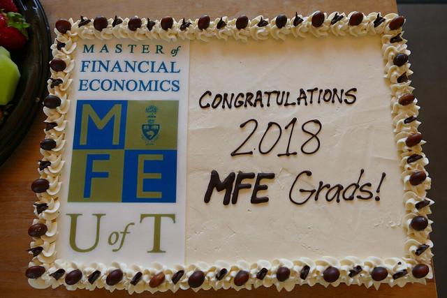 MFE Graduation Reception 2018