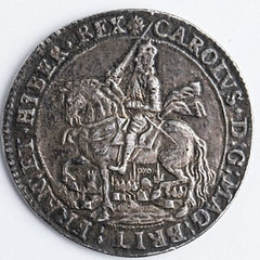 Charles i Oxford crown obverse