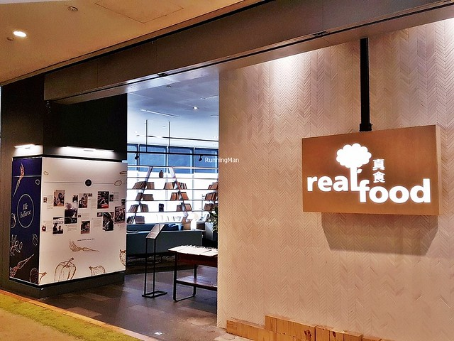 Real Food Cafe Exterior