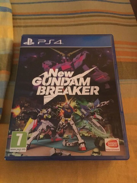 New Gundam Breaker PS 4