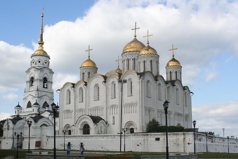 Владимир, три основные достопримечательности города