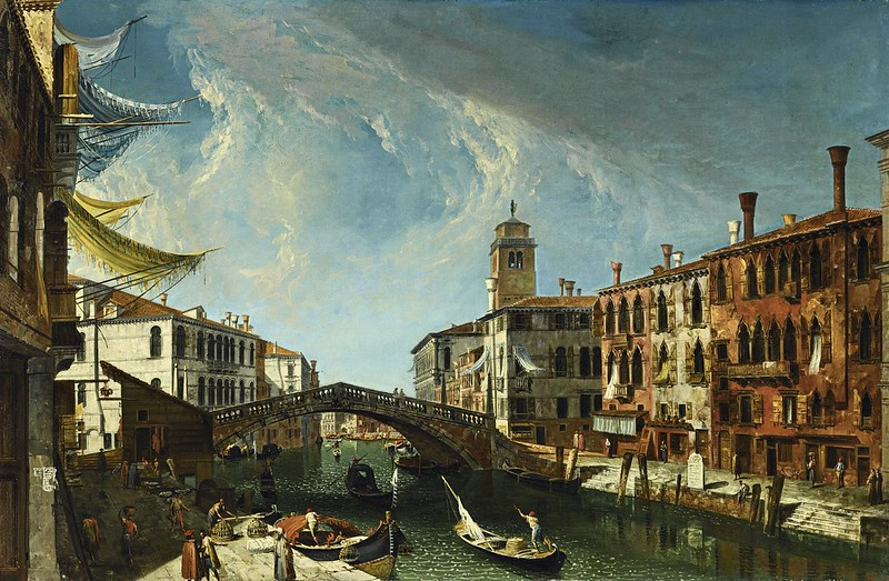 Michele Marieschi - View of the Cannaregio, looking towards the Grand Canal