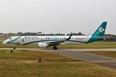 I-ADJS Embraer 195-200LR on 09 June 2018 Jersey