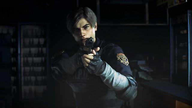#E3 2018 Resident Evil 2 Screens & Artworks