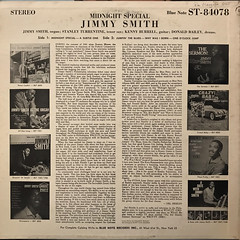 JIMMY SMITH:MIDNIGHT SPECIAL(JACKET B)