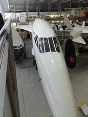 concorde from front