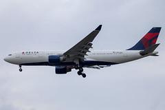 Delta Air Lines - Airbus A330-223 N857NW @ London Heathrow