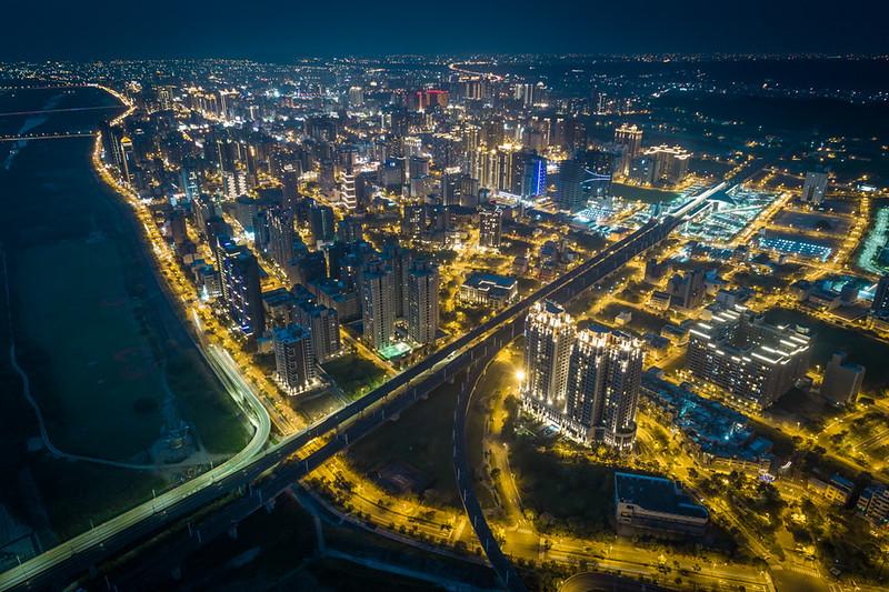 新竹の夜景