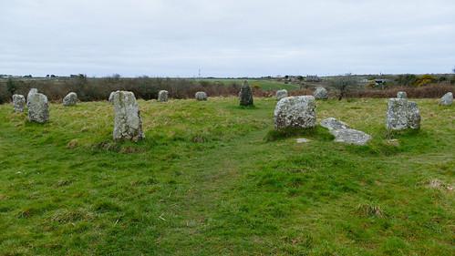 Boscowan-un stone circle