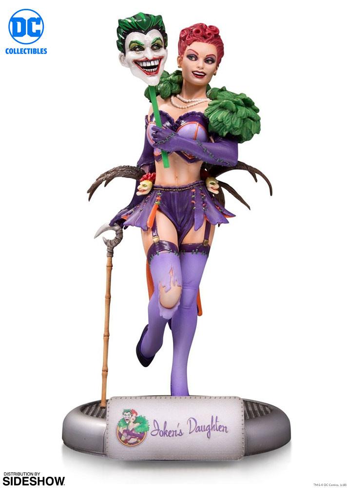 瘋瘋癲癲的夜總會女郎?! DC Collectibles DC Bombshells 系列【小丑的女兒】The Joker's Daughter 全身雕像作品
