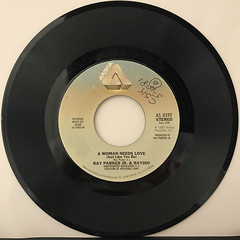 RAY PARKER JR. & RAYDIO:A WOMAN NEEDS LOVE(JUST LIKE YOU DO)(RECORD SIDE-A)
