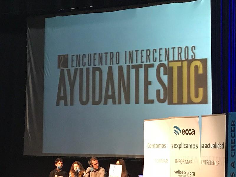 Encuentro INTERCENTROS: Ayudantes TIC. Programa Yrichen.