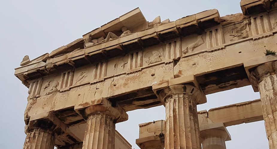 De archeologische highlights van Athene: Parthenon | Mooistestedentrips.nl