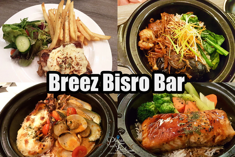 grand mercure breez bistro food