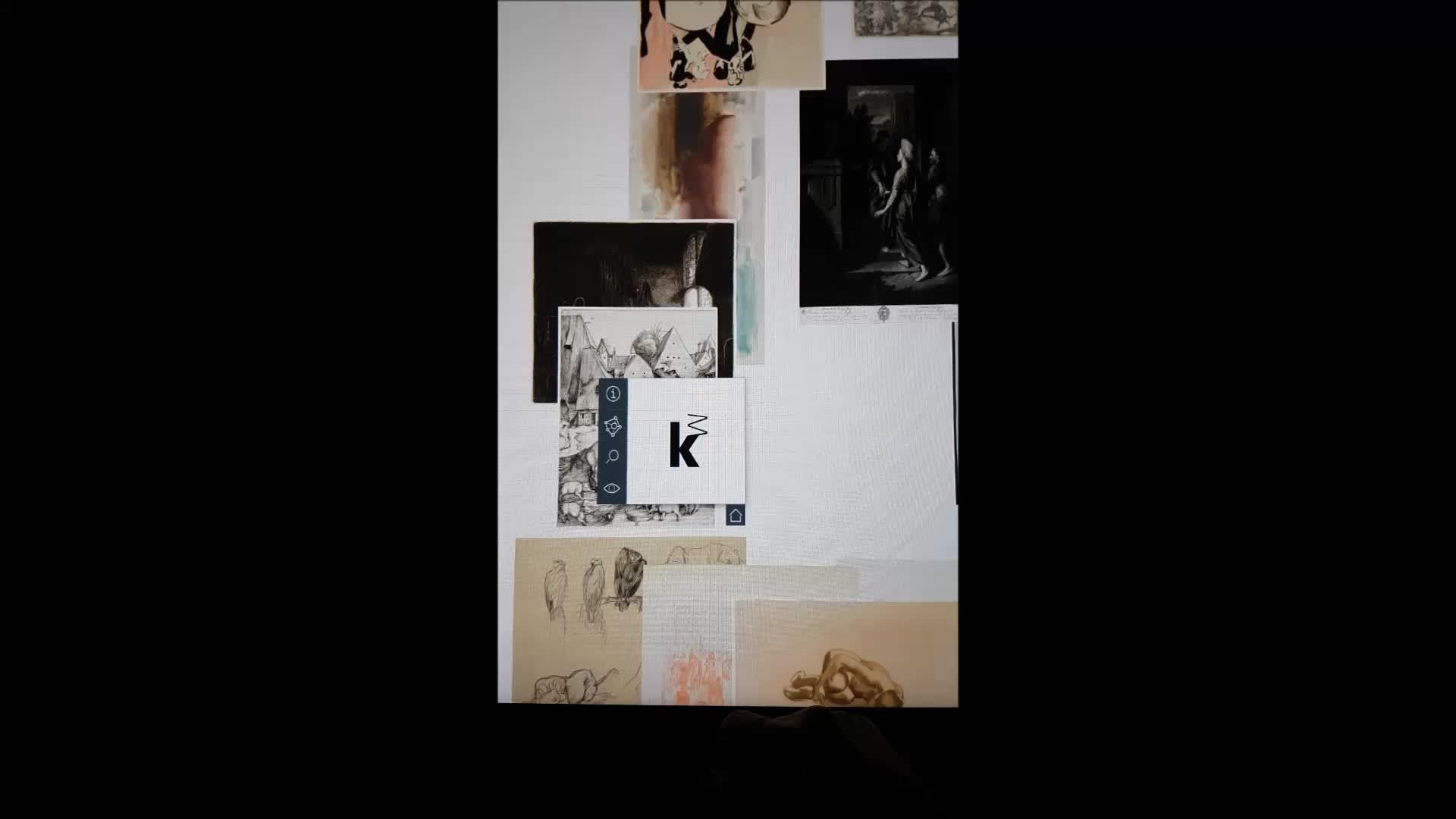 Kunsthalle Mannheim Grafiktisch Duesiblog