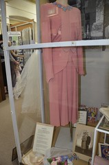 Myra Crothers wedding gown 1945