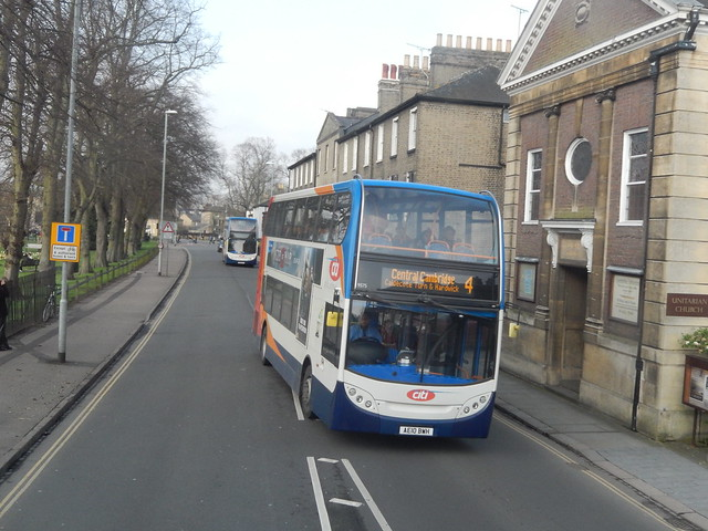 AE10BWH Stagecoach Cambridge Citi, Nikon COOLPIX S9500
