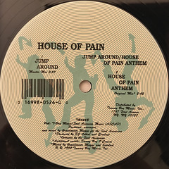 HOUSE OF PAIN:JUMP AROUND(LABEL SIDE-B)