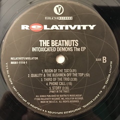 THE BEATNUTS:INTOXICATED DEMONS THE EP(LABEL SIDE-B)