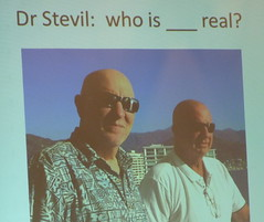 Which One Is Dr. Stevil? Mini-Me? Any Me?