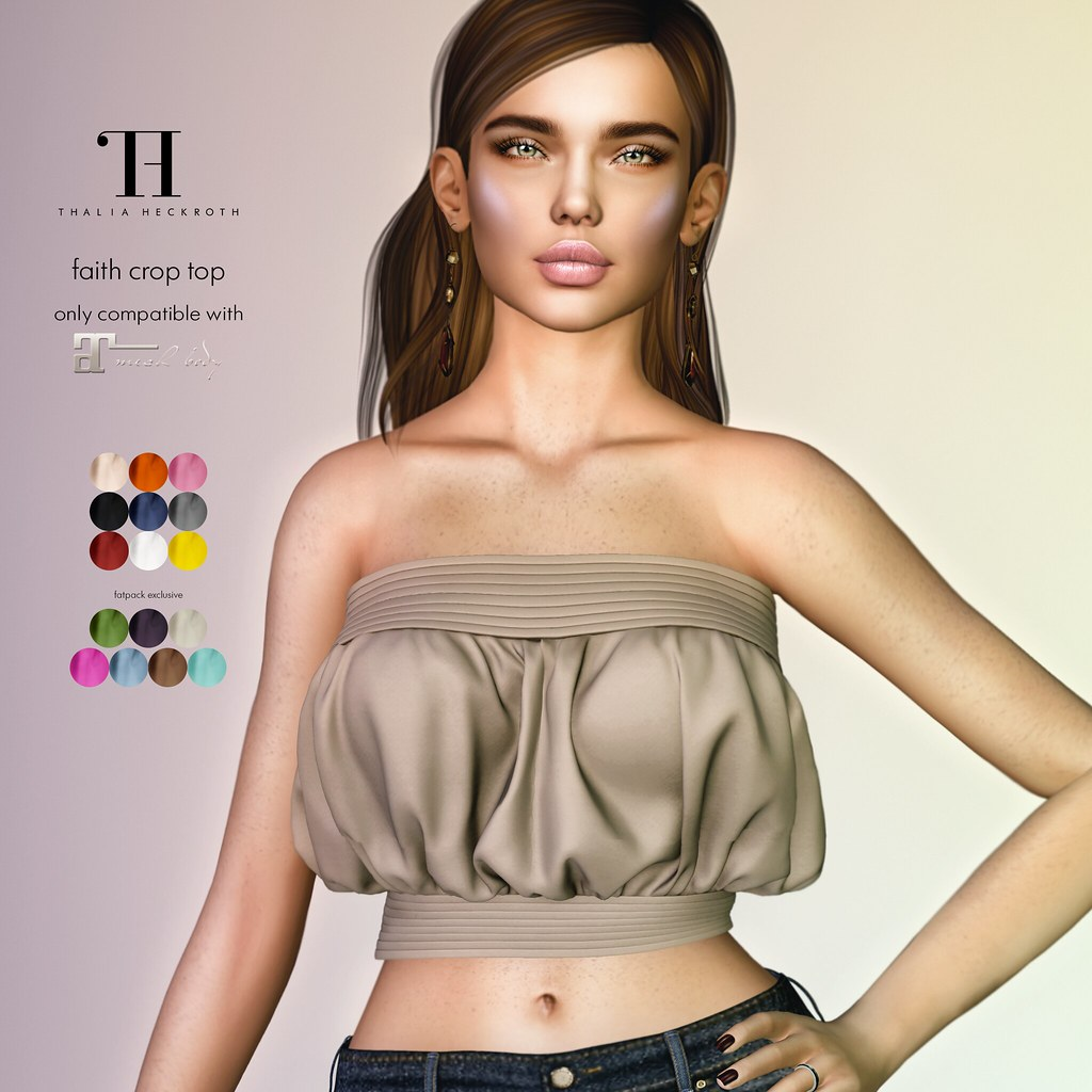 Thalia Heckroth – Faith crop top (Maitreya)