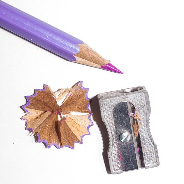 365.78 - Pencil and sharpener., Olympus E-30, SIGMA 105mm F2.8 MACRO